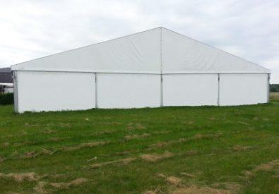 Hala namiotowa 20 x 20 m, ściana 4m