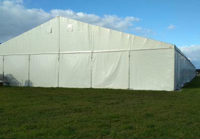 Używana hala namiotowa 25x85x4m od ręki