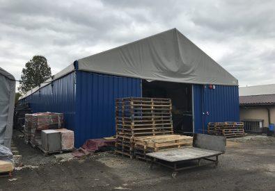 hala namiotowa Marplan Koszalin