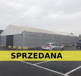 Hala namiotowa 15x30x4m wzmocniona Warszawa