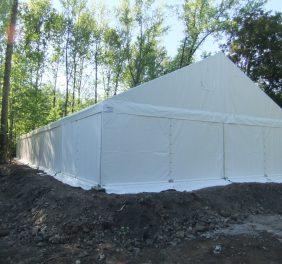 Hala namiotowa 10×20 do samodzielnego montażu