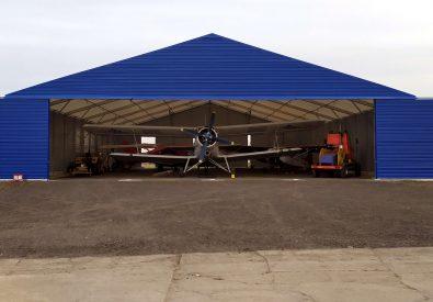 Hangar lotniczy 25x30x5m