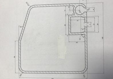 Profil boczny 105x105x3