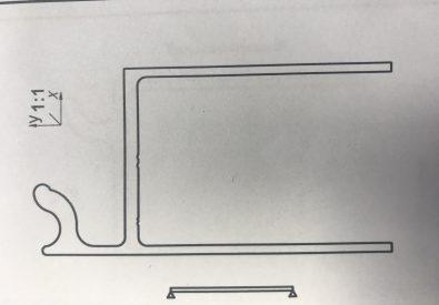 Profil do blachy T35