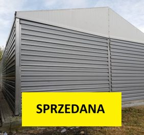 Hala magazynowa 10x25x4m – Tarnobrzeg