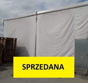Hala Namiotowa 20x25x4,5m – United Packing