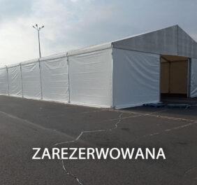 Hala magazynowa 15x25x4m plandeka Szczecin